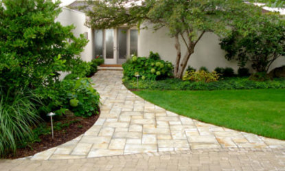 Walkway and Driveway - Landscape Design & Construction in Lake Geneva