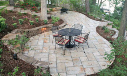Patio and Walls - Landscape Design/Construction in Laurdrale Lakes