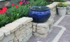 Patio and Seatwall - Landscaping in Walworty County WI