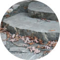 Natural Stone - Gneiss Stone Slabs in Delavan Lake