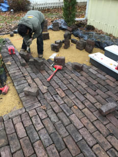 Installing Permeable Metro Paver Patio